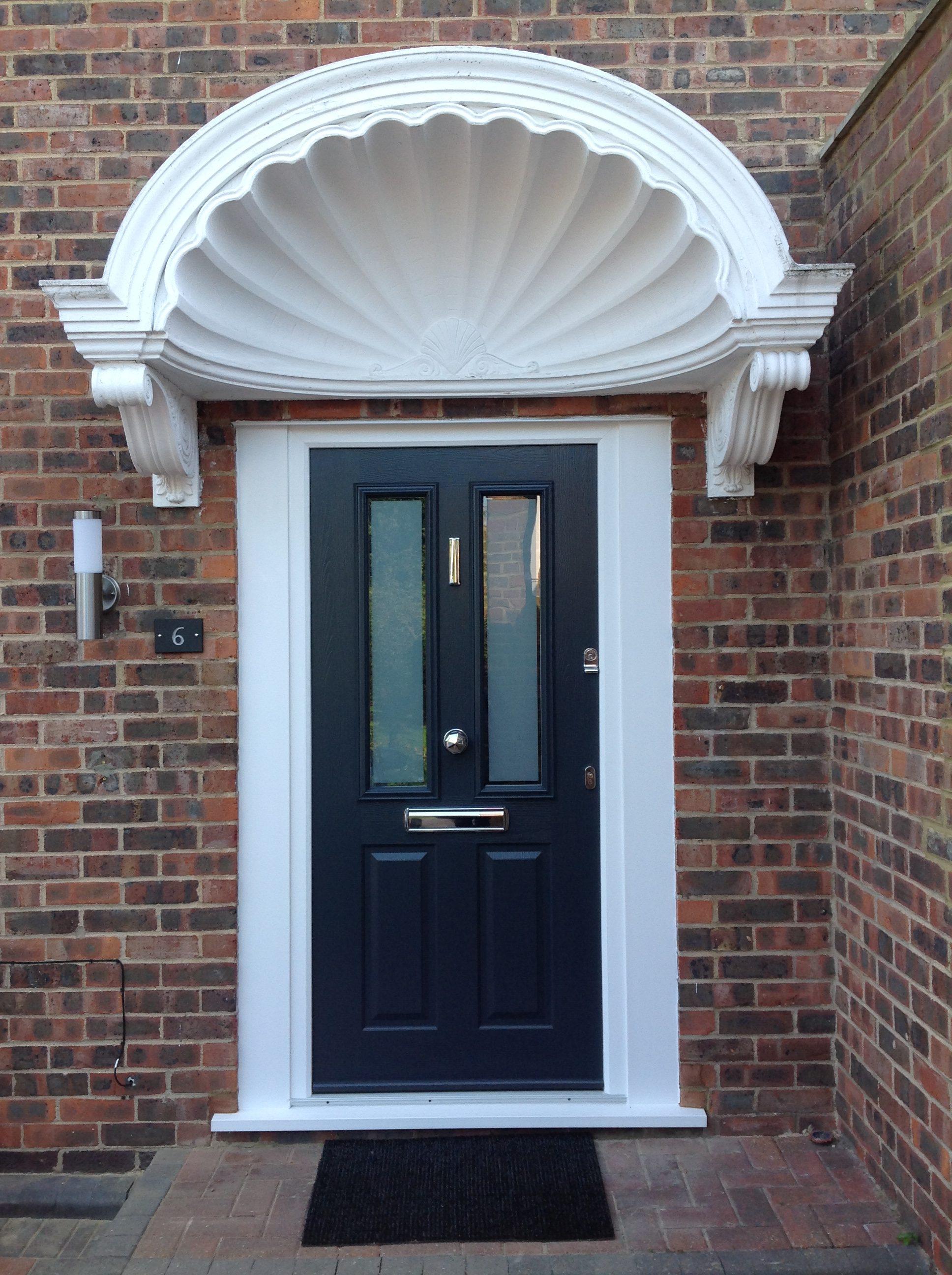 Solidor Composite Door Installations Silver Glass